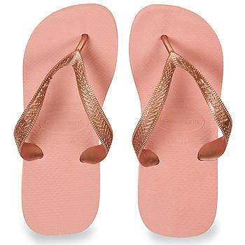 Sapatos Mulher Chinelos Havaianas TOP TIRAS Rosa