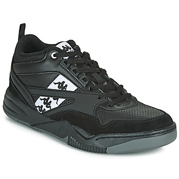 Sapatos Homem Sapatilhas Kappa BORIS Preto / Cinza