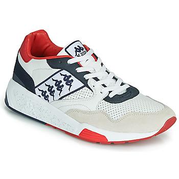 Sapatos Homem Sapatilhas Kappa LUXOR 2 Branco / Vermelho