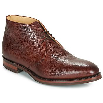 Sapatos Homem Botas baixas Barker OAKNEY Bordô