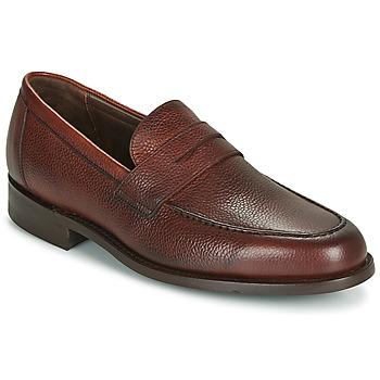 Sapatos Homem Mocassins Barker JEVINGTON Bordô