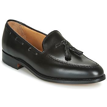 Sapatos Homem Mocassins Barker TASSEL Preto