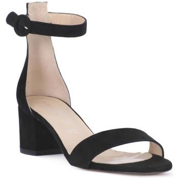 Sapatos Mulher Sandálias Priv Lab CAMOSCIO NERO Nero