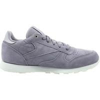 Sapatos Criança Sapatilhas Reebok Sport CL Leather Mcc Branco, Cinzento