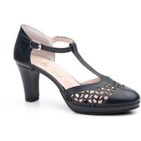 Sapatos Mulher Sandálias Annora Zapatos Zapato de piel de mujer by Annora Bleu