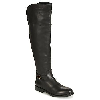 Sapatos Mulher Botas Tommy Hilfiger HOLLY 6A Preto