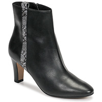 Sapatos Mulher Botins Tamaris MAFIATA Preto / Réptil