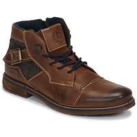 Sapatos Homem Botas baixas Bugatti ROLLAND Castanho