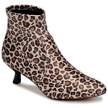 Sapatos Mulher Botins Katy Perry THE BRIDGETTE Leopardo