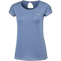 Textil Mulher T-Shirt mangas curtas Columbia Peak TO Point Azul