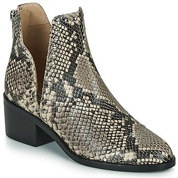 Sapatos Mulher Botas baixas Steve Madden CONSPIRE Bege