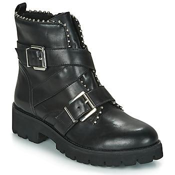 Sapatos Mulher Botas baixas Steve Madden HOOFY Preto