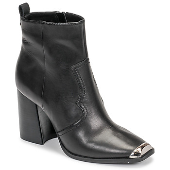 Sapatos Mulher Botins Steve Madden ENZO Preto
