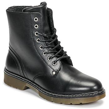 Sapatos Rapariga Botas baixas Bullboxer AHC501E6LC-BLBLK Preto