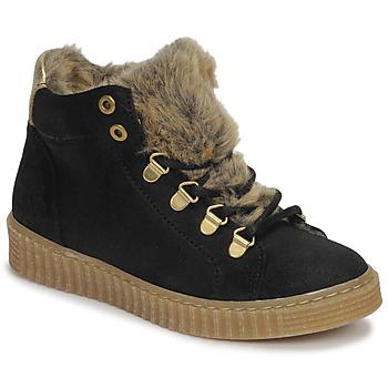 Sapatos Rapariga Sapatilhas de cano-alto Bullboxer AIB504E6CA-BLCK Preto
