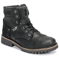 Sapatos Rapaz Botas baixas Bullboxer AHA518E6L-BLCK Preto