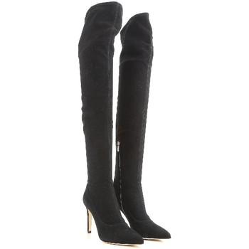 Sapatos Mulher Botas altas Sergio Rossi A64091 MAF714 1000 nero