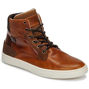 Sapatos Homem Sapatilhas de cano-alto Bullboxer 648K55858A2501 Castanho