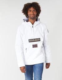 Textil Homem Parkas Napapijri RAINFOREST POCKET Branco