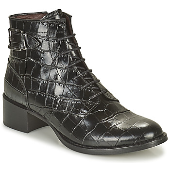 Sapatos Mulher Botas baixas Muratti ABYGAEL Preto