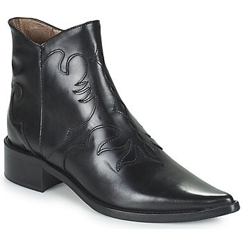 Sapatos Mulher Botas baixas Muratti REDBUD Preto