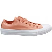 Sapatos Criança Sapatilhas Converse Chuck Tylor AS OX Cor-de-rosa