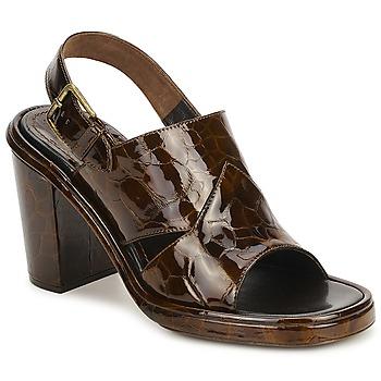 Sapatos Mulher Sandálias Rochas TARTAF Castanho