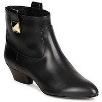 Sapatos Mulher Botins Marc Jacobs MJ19102 Preto