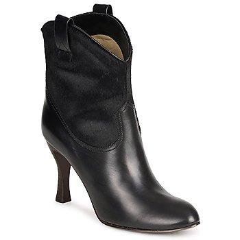 Sapatos Mulher Botins Marc Jacobs MJ19064 Preto