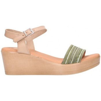 Sapatos Mulher Sandálias Oh My Sandals For Rin OH MY SANDALS 4349 kaki combi Mujer Kaki vert