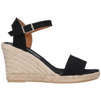Sapatos Homem Alpargatas Fernandez M-35  pique 7C Mujer Negro noir