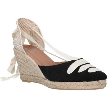 Sapatos Mulher Alpargatas Carmen Garcia 41s7 Mujer Negro noir