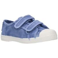 Sapatos Rapaz Sapatilhas Natural World 489E Niño Celeste bleu