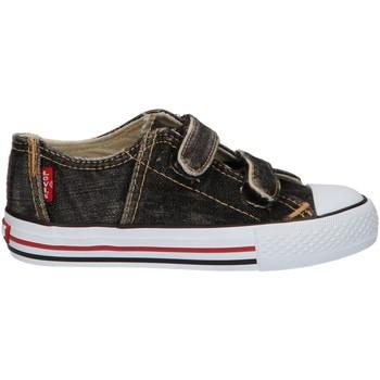 Sapatos Criança Sapatilhas Levi's VTRU0006T ORIGINAL Negro