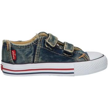 Sapatos Criança Sapatilhas Levi's VTRU0006T ORIGINAL Azul