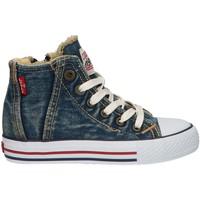 Sapatos Criança Sapatilhas de cano-alto Levi's VTRU0004T ORIGINAL Azul