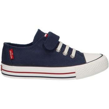 Sapatos Criança Sapatilhas Levi's VTRU0035T TRUCKER 0040 NAVY Azul