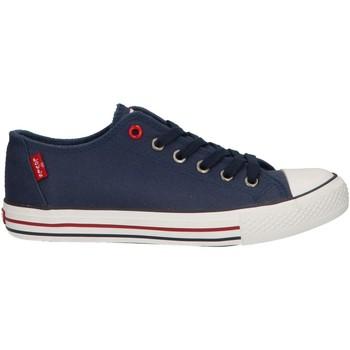 Sapatos Criança Sapatilhas Levi's VTRU0064T TRUCK 0040 NAVY Azul