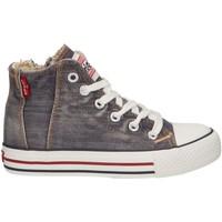 Sapatos Criança Sapatilhas de cano-alto Levi's VTRU0091T ORIGINAL Gris