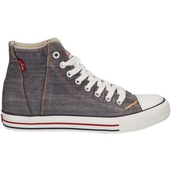 Sapatos Criança Sapatilhas de cano-alto Levi's VTRU0092T ORIGINAL Gris