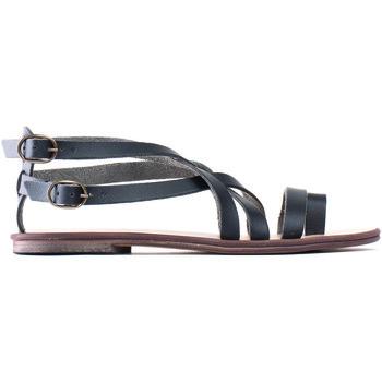Sapatos Mulher Sandálias Nae Vegan Shoes Itaca preto