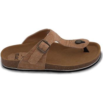 Sapatos Mulher Chinelos Nae Vegan Shoes Kos Cork castanho