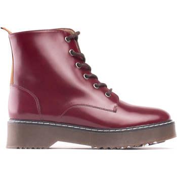 Sapatos Mulher Botas baixas Nae Vegan Shoes Trina Bordeaux bordeaux