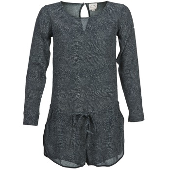 Textil Mulher Macacões/ Jardineiras Petite Mendigote LOUISON Preto / Cinza