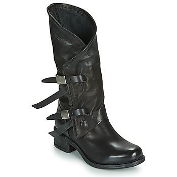 Sapatos Mulher Botas Airstep / A.S.98 ISPERIA BUCKLE Preto