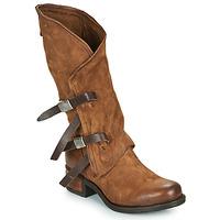 Sapatos Mulher Botas Airstep / A.S.98 ISPERIA BUCKLE Castanho