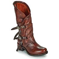 Sapatos Mulher Botas Airstep / A.S.98 ISPERIA BUCKLE Vermelho