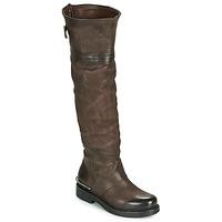 Sapatos Mulher Botas Airstep / A.S.98 BRET HIGH Castanho