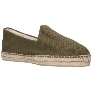 Sapatos Homem Alpargatas Alpargatas Sesma 009 Hombre Kaki vert