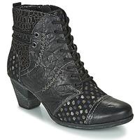 Sapatos Mulher Botins Remonte Dorndorf D8786-06 Preto